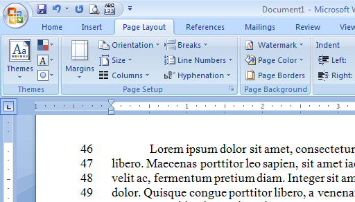 how to change numbering in word document
