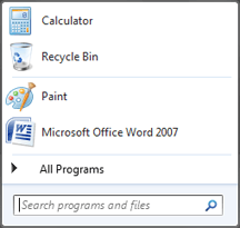 Add Recycle Bin To Start Menu Or Taskbar
