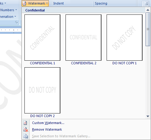 Add Watermark To Word Document | Computer Tech Tips