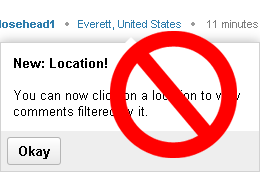 Disable Yahoo's Annoying Location Popup