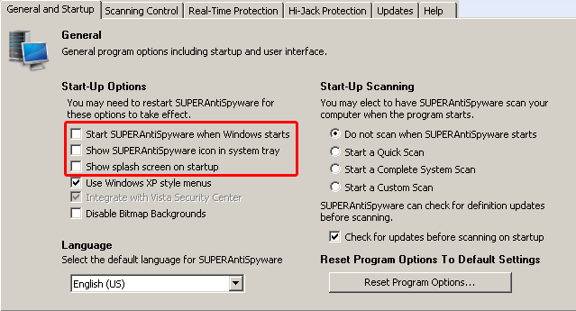 Installing SUPERAntiSpyware Free 5 0   Computer Tech Tips