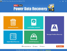 MiniTool Power Data Recovery — Retrieve your data in different situations