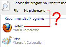 Remove Program From File's Recommended Programs List
