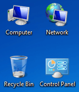 Show/Hide Desktop System Icons